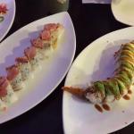 Godzilla roll, Shadowridge roll, caterpillar roll, amazing roll, paradise roll, spider roll.