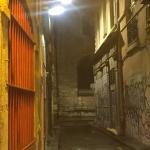 Bar in hidden alley