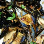 Excellent pepper mussels