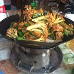 Mr Shi - stirfry broccoli (spicy)