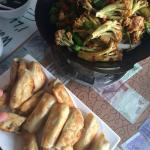 Mr Shi - stirfry broccoli and dumplings