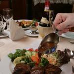 Мясо в ресторане Старая Квартира