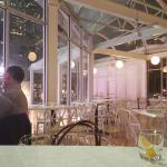 Empty dining floor