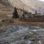 Panorama della valle