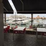 View to the Marina from inside.