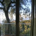 vista meravigliosa dalla finestra della stanza