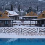 Τα Σπιτάκια  χιονισμένα το χειμώνα.