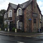 The Market Inn, after rain.