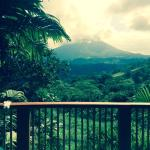 Arenal Volcano from terrace