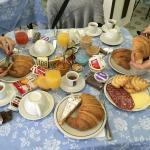 Una ricca colazione qui nn può mancare! 👍