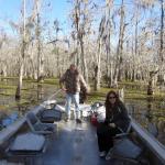Relaxing on the Louisiana Bayou :-)