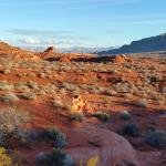 Valley of Fire State Park ($10), an hour and a half from Vegas