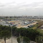 VUE A PARTIR DE L' HÔTEL IBIS MARSEILLE PROVENCE AEROPORT