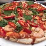 Thai Prawn Pizza