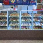 The donut case