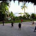 Beach Volleyball with staff & guests