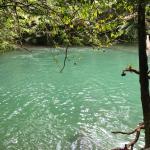 Blue Hole swimming area