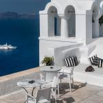 Authentic Santorinià Residences terrace