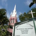 教会の看板。