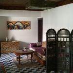 Le salon de la la suite SALMA