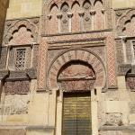 Vue sur la mosquée de CORDOUE SITUEE FACE A L'HOTEL