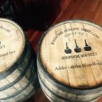 Thank you Woodford Reserve for our awesome custom barrels!