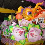 The famous Dragon float