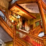Stunning picture of stair case