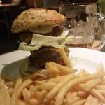 Double Cheese Burger at The Pub