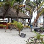cortyard and playa