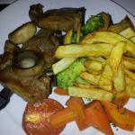 Food superb lamb chops