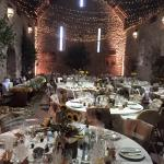 Spanish barn, reception