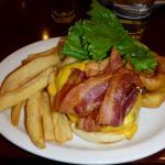 Junior's bacon cheeseburger