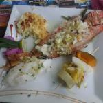 poisson grillé vivaneau