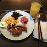 Selection of food from the Breakfast Buffet