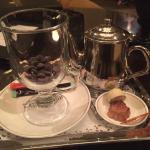 Hot chocolate service