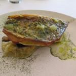 Pink Snapper with mussels (out of view)