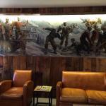 Bar im 1. OG., ein ruhiger Ort zum Lesen oder zum Gespräch