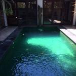 Great pool to hop into after exploring the area