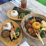Sample of food in surrounding eateries