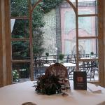 Comedor con vistas al Jardín