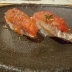 Sushi de sardina ahumada