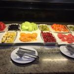 Früche Buffet Frühstück