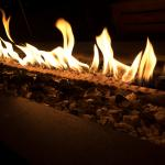 Christmas Dinner Fireplace