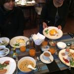 Outsanding breakfasts!!