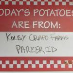 Five Guys Potato Source