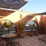 Private terrace Room 8