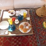 Breakfast in your room if you like.