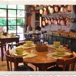 La salle petit déjeuner