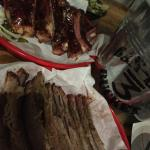 Ribs and brisket